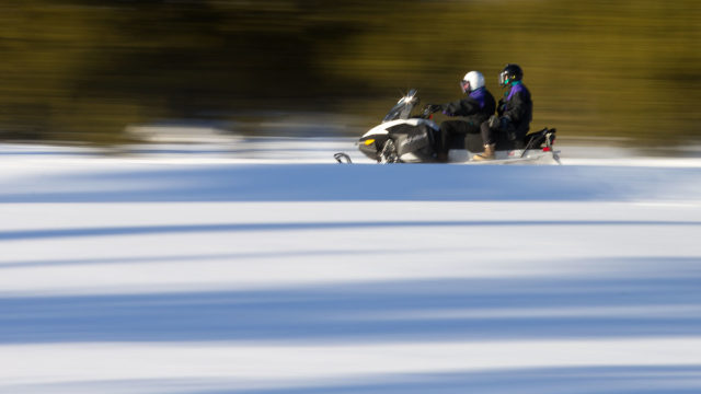 Access backcountry snowmobiling areas directly from Silver Willows!