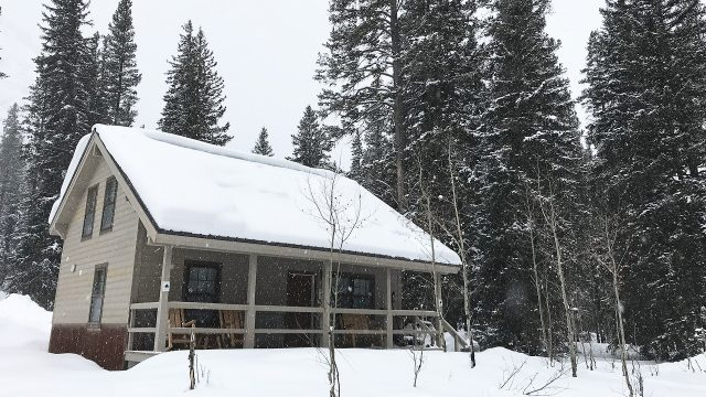 The Ursa Cabin is available for winter rentals!